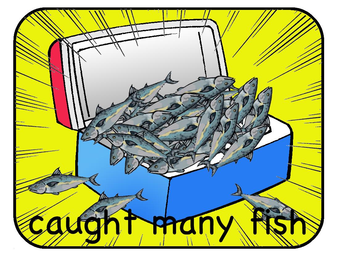 caught many fish