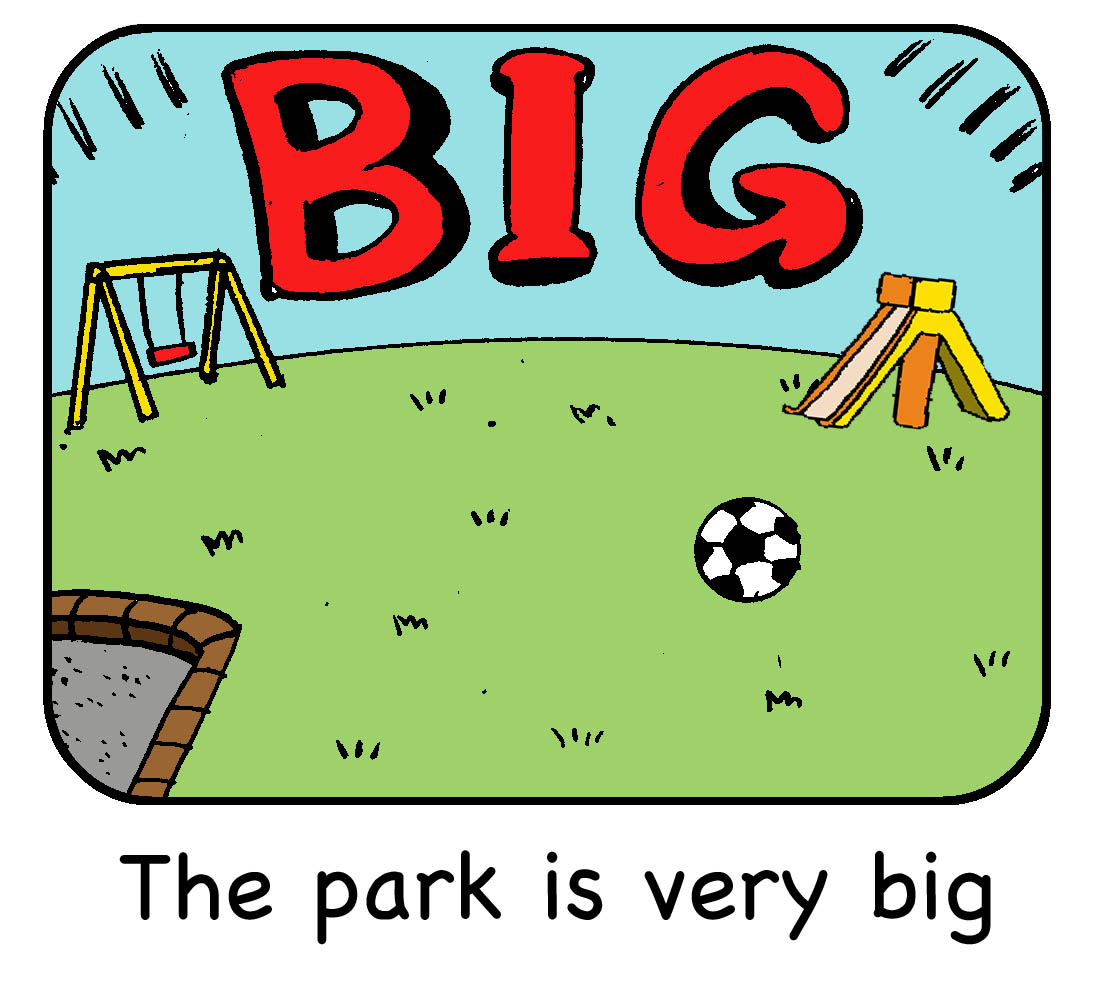 The park is very big